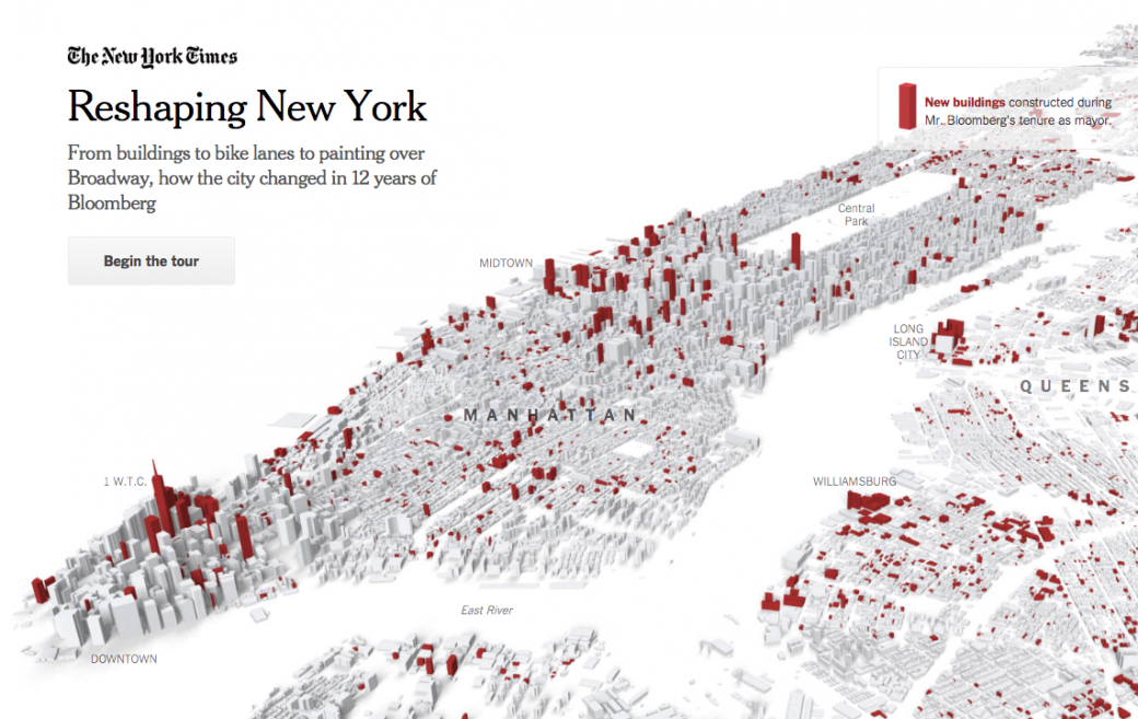 Reshaping New York