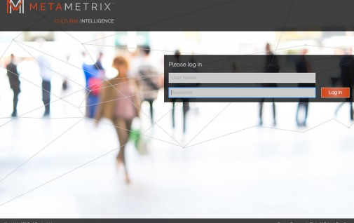 Home page for Metametrixdata.com