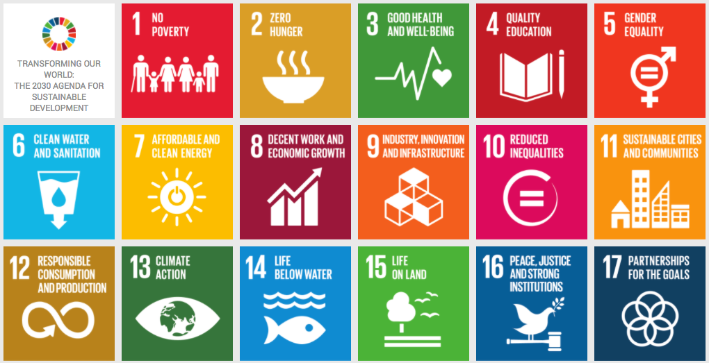 UN Sustainable Develompent Knowledg Platform Goals