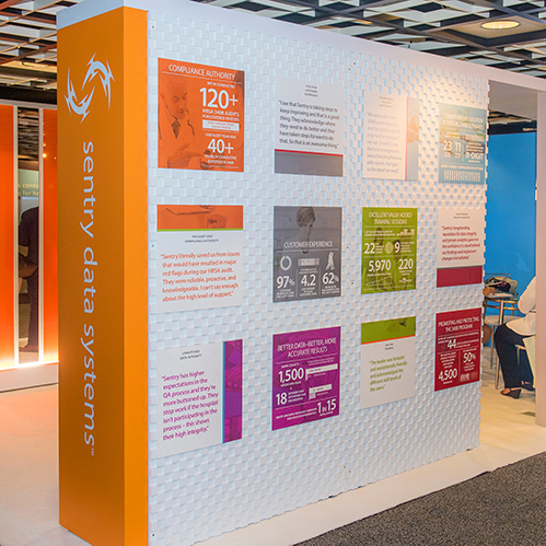 Sentry Data Systems Tradeshow Booth Infographics